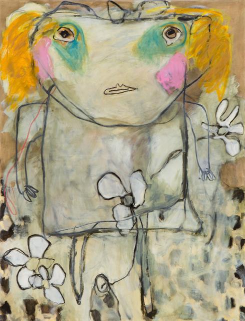 Dusty Boynton, 'Pink but Blue', 2012, Denise Bibro Fine Art