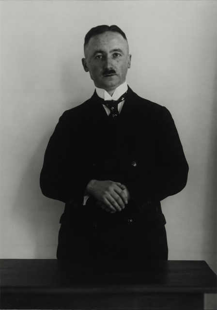 August Sander, 'High School Teacher, c. 1932', Galerie Julian Sander