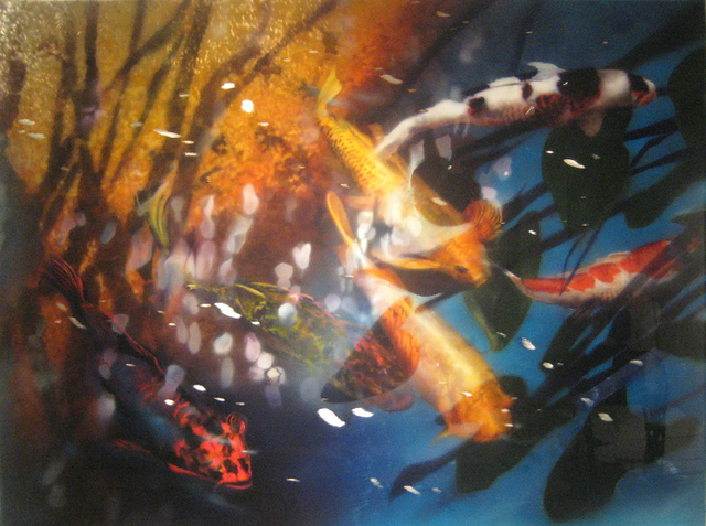 , 'Reflection Over Koi,' , Plus One Gallery