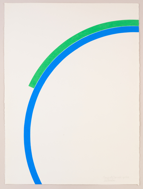 ", '""Fragments of Two Circles"" April 1976,' 1976, Bookstein Projects"