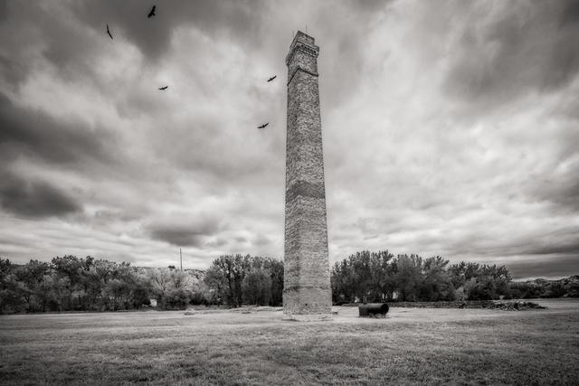 , 'Chimney,  De Mores Packing Plant Ruins,  Medora, North Dakota,' , Soho Photo Gallery