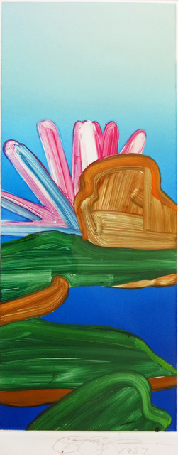 Gary Bukovnik, 'Monoprint of a Lotus ', 1987, Joseph Grossman Fine Art Gallery