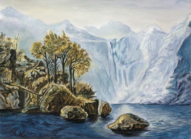 , 'These are still Landscapes 1911-2013 No. 6 还是山水画1911-2013 6号,' 2013, Ink Studio