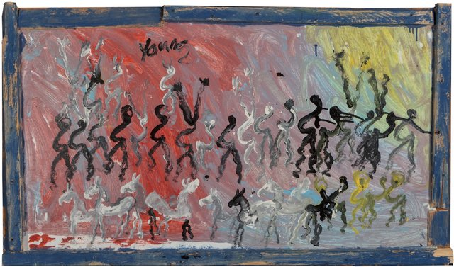Purvis Young, 'Freedown', circa 1997, Heritage Auctions