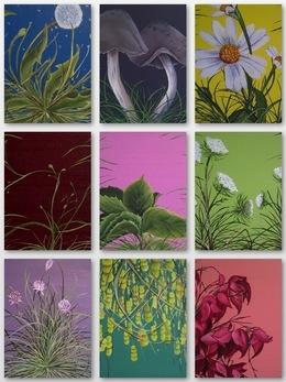 , 'Garden Studies,' 2010-2011, Susan Eley Fine Art
