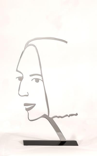 , 'Ada 2 (outlines),' 2018, Galerie Ernst Hilger