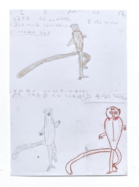 , 'Lemur,' 2016, CHOI&LAGER