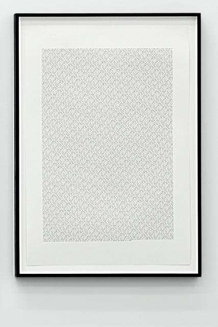 , 'This is your life #5,' 2013, Galerie Antoine Ertaskiran