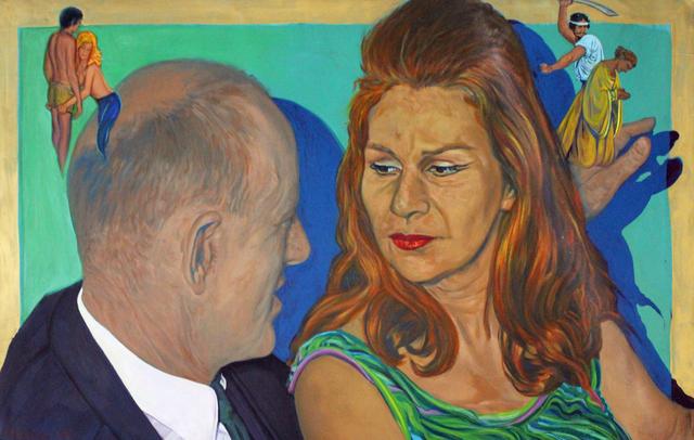 , 'The Conversation,' 1991, Robert Berman Gallery