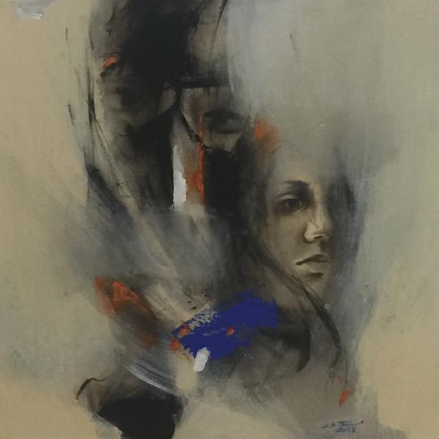 , 'Al-burqah 3,' 2018, al markhiya gallery