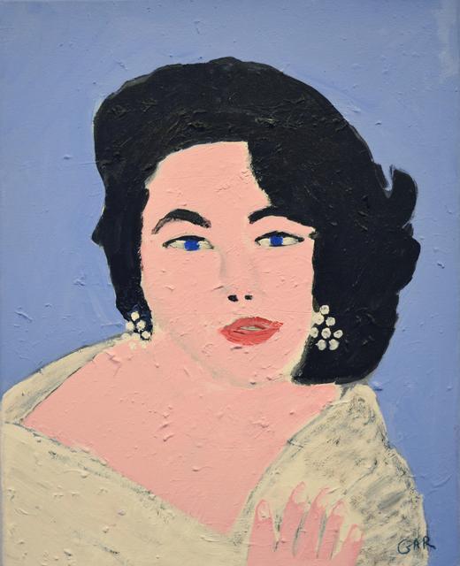 Gary Peabody, 'Elizabeth Taylor 1932 - 2011', 2012, Fountain House Gallery