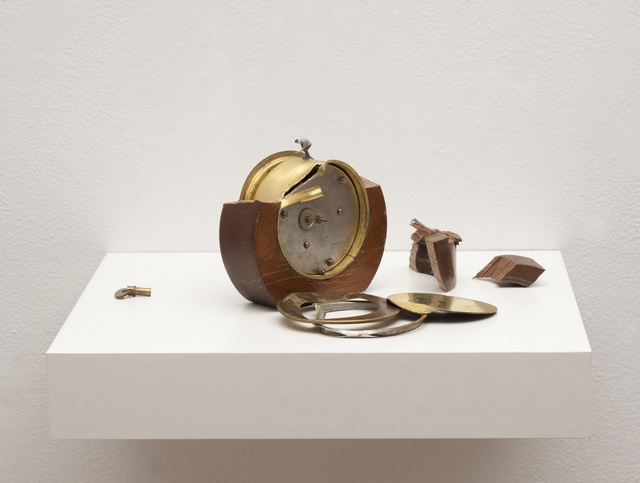 , 'To Fix It II (round clock),' 2016, Hosfelt Gallery