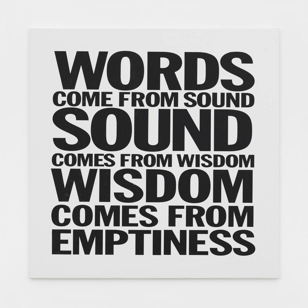 WORDS COME FROM SOUND