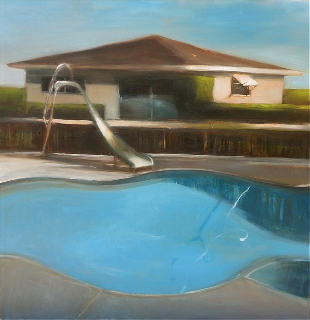 , 'Neighborhood Pool,' 2018, Sue Greenwood Fine Art