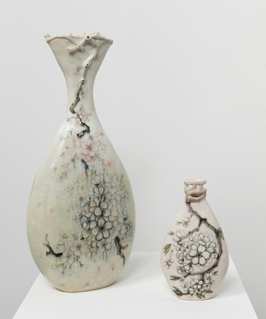 , 'Blossom Vase (large) & Blossom Vase III,' 2016, Jane Hartsook Gallery