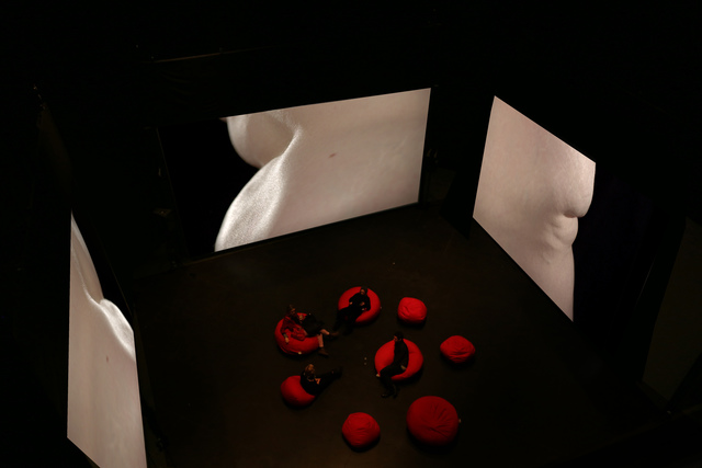 , 'Eskasizer (Video installation view),' , Pierogi