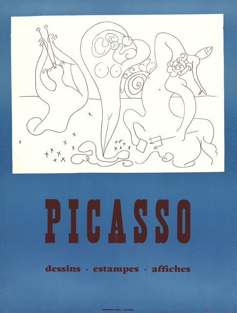Pablo Picasso, 'Drawings, Prints, Posters', (Date unknown), Ephemera or Merchandise, Silkscreen, ArtWise