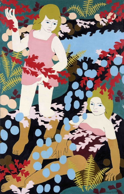 , 'Two Girl Bathers,' 1968, Tatha Gallery