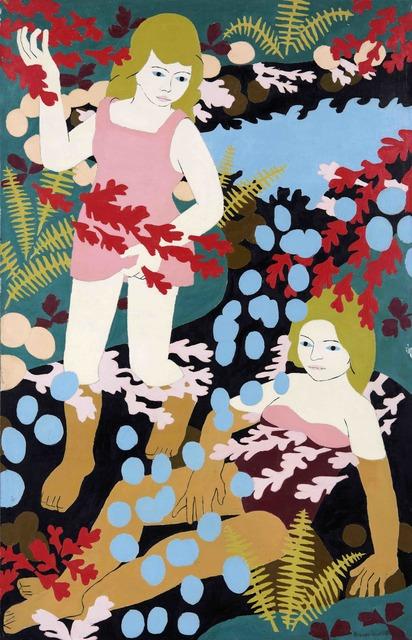 Norman Gilbert, 'Two Girl Bathers', 1968, Tatha Gallery