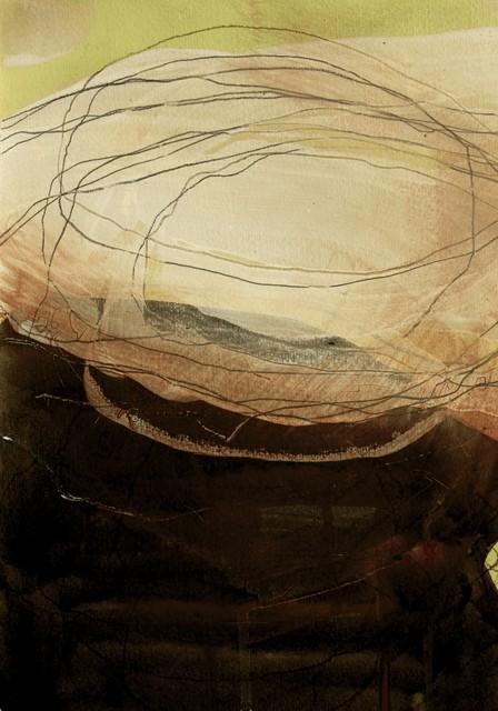 , 'Fallen Rock 3 (Cowbar) Sketch 1,' 2016, Joanna Bryant & Julian Page