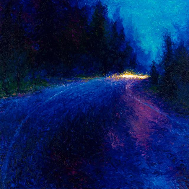 , 'Cobalt Blue Drive (Embellished Artist's Proof),' 2018, Filo Sofi Arts