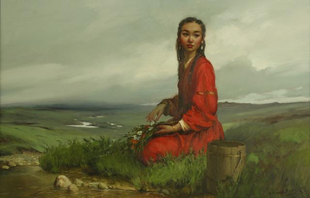 , 'Waiting,' 2018, Mongolian Digital Art