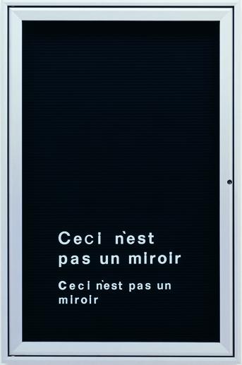 , 'Untitled (Ceci n'est pas un mirror),' 2006, Vistamare