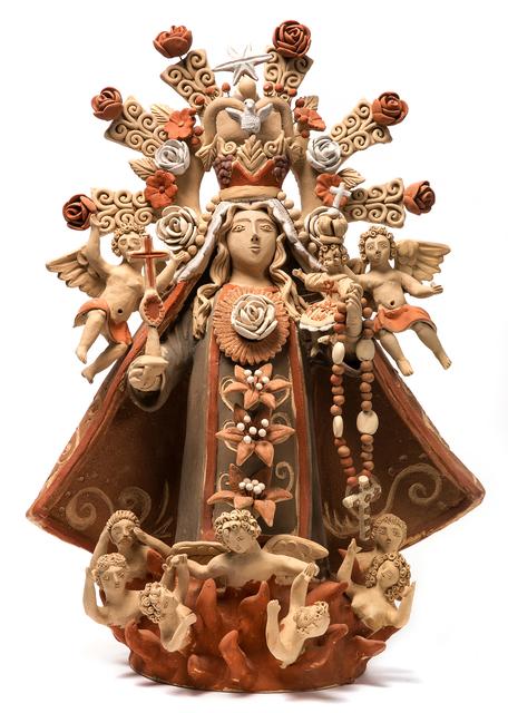 , 'Virgen del Rosario Ceramics Mexican Folk Art Clay,' 2017, Cactus Fine Art