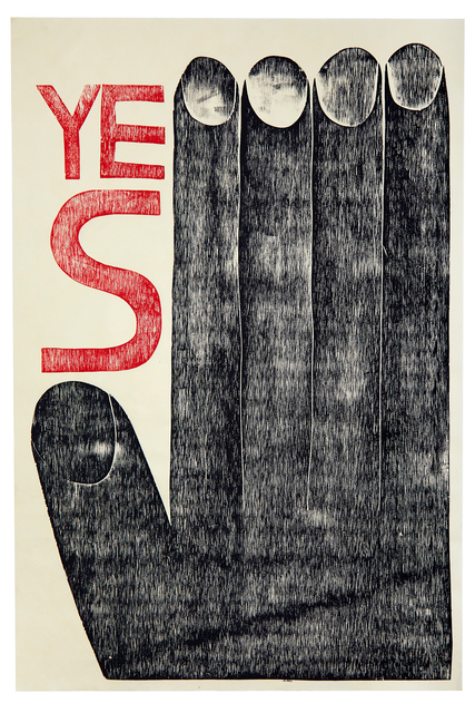 , 'YES,' 2017, Subliminal Projects