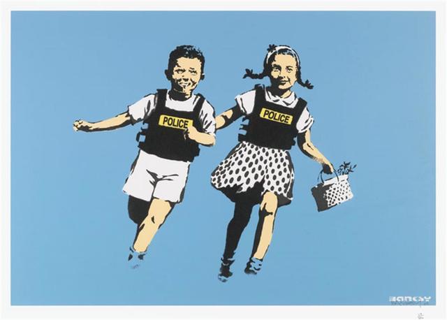 , 'Jack and Jill ,' 2005, Graffik Gallery / Banksy Editions