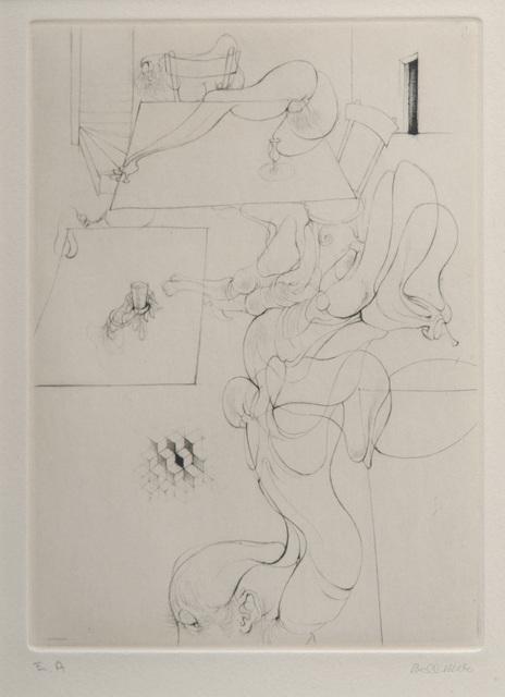 , 'A Sade #3,' 1961, Hieronymus