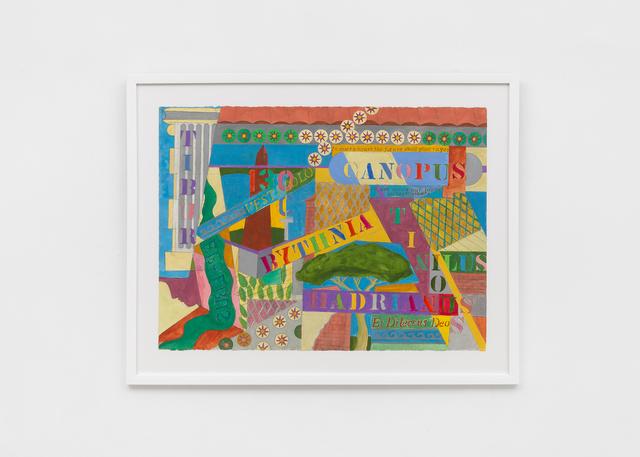 , 'Villa Adrianna,' 2017, Richard Taittinger Gallery