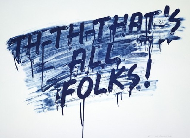 , 'That's All Folks!,' 2014, Maddox Gallery