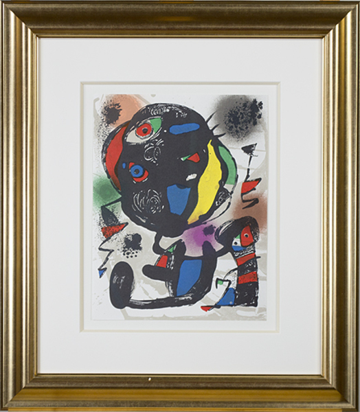 """, 'Lithographie Originale V from """"Miro Lithographs IV, Maeght Publisher"""",' 1981, David Barnett Gallery"""