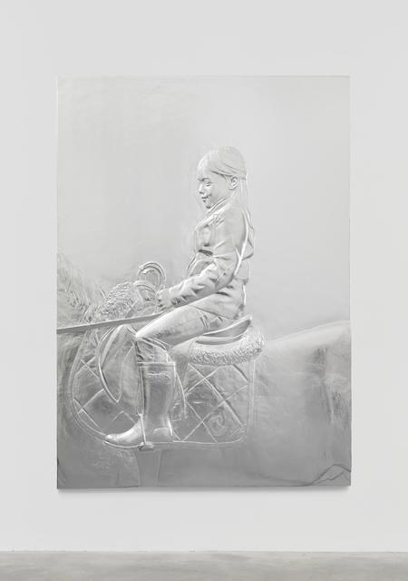 , 'Girl on Pony,' 2015, The FLAG Art Foundation