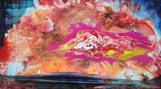 Heidi Neff, 'Eruption', 2017, Painting, Acrylic on canvas, Amos Eno Gallery