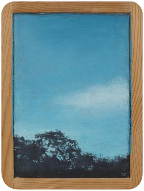 Myong Hi Kim, 'Landscape NE', 2007, Painting, Oil pastel on chalkboard, Art Projects International
