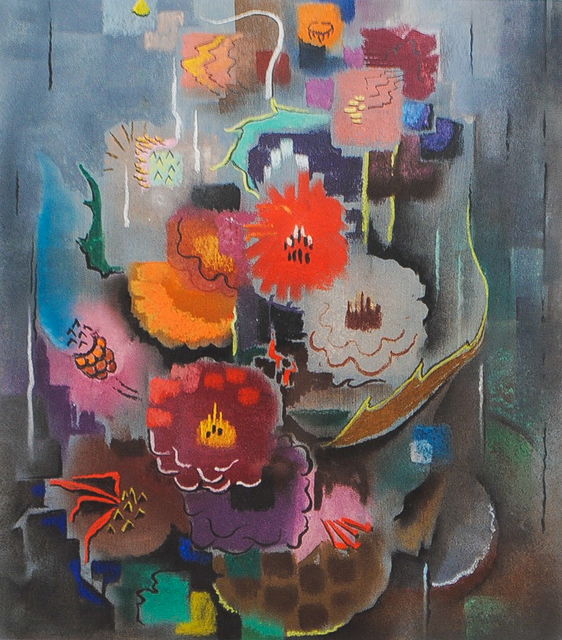 , 'Abstract Floral Composition,' 1943, Amanda Winstead Fine Art
