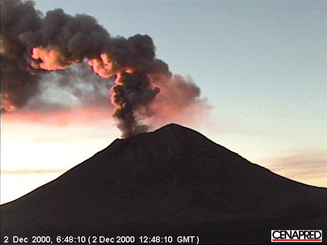 Matthew Flores, 'Every Eruption of the Volcano Popocatépetl Since 2000', 2015, Video/Film/Animation, Color digital video, silent, Academy Art Museum