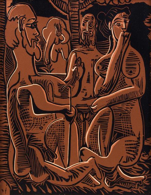Pablo Picasso, 'Le Déjeuner sur l'herbe', 1962, Hindman
