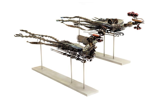 , 'Bronze Phoenix (Feng and Huang),' 2016, Acquavella Galleries