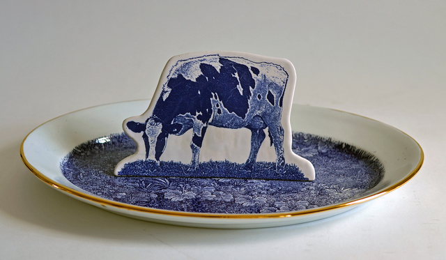 , 'Scott's Cumbrian Blue(s), Crooklands Cow in a Meadow No. 3,' 2015, Ferrin Contemporary