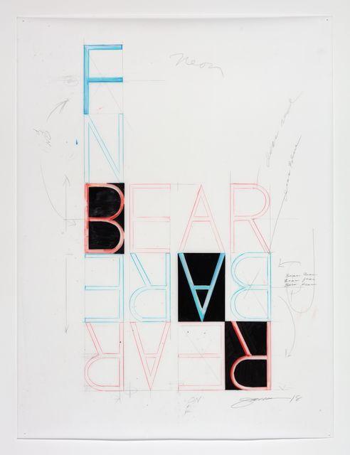 , 'Bear Bare ,' 2018, Galerie Parisa Kind
