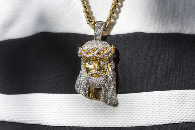 , 'Another guest's Jesus bling, Atlanta,' 2015, Fahey/Klein Gallery