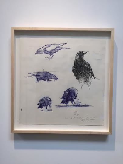 , 'Crows Study for State of the Union,' 2016, ARCADIA CONTEMPORARY