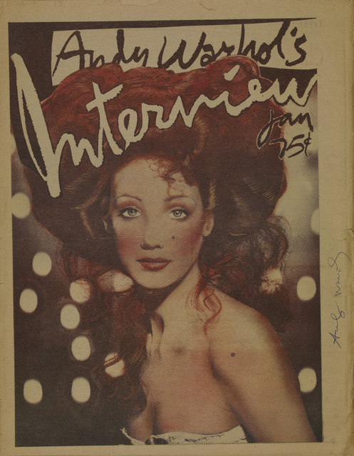 Andy Warhol, 'Interview, Marisa Berenson', 1975, Itineris
