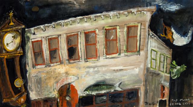 James Martin, 'Top Floor of the Deli', 1986, Foster/White Gallery