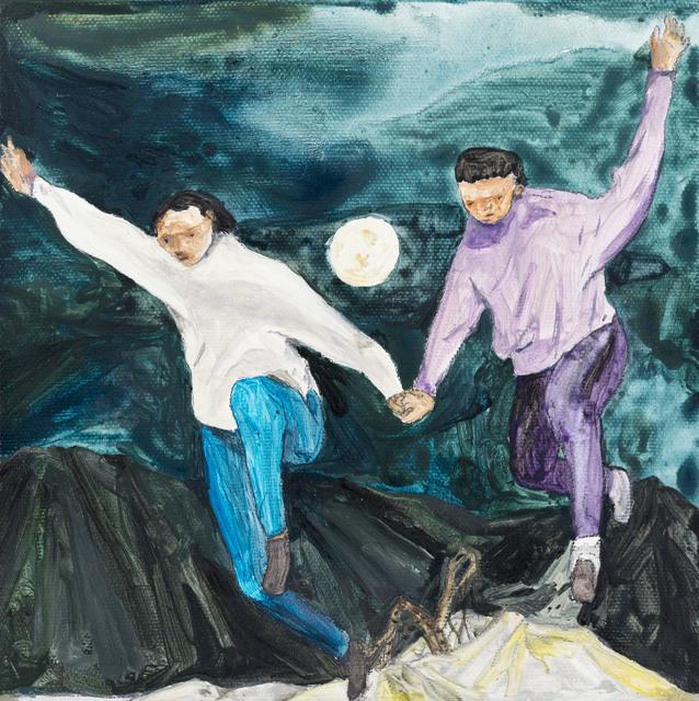 Wang Guan-Jhen, 'Holding hands and running under the full moon', 2017, Yiri Arts
