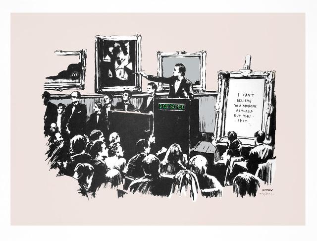 Banksy, 'Morons (Unsigned)', 2006, Prescription Art