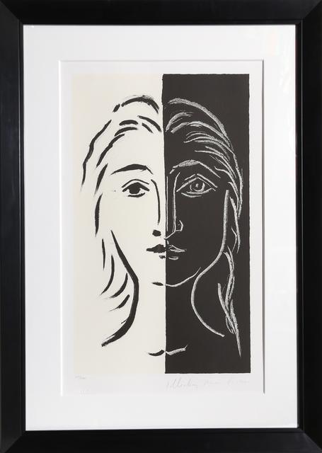 Pablo Picasso, 'Portrait en Deux Parties Noire et Blanche, 26-D', 1979-1982, RoGallery
